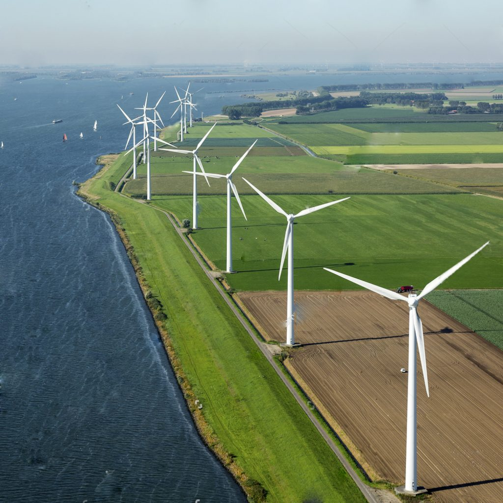 stock-photo-aerial-view-of-offshore-wind-turbine-farm-in-along-the-volkerak-the-netherlands-374134984